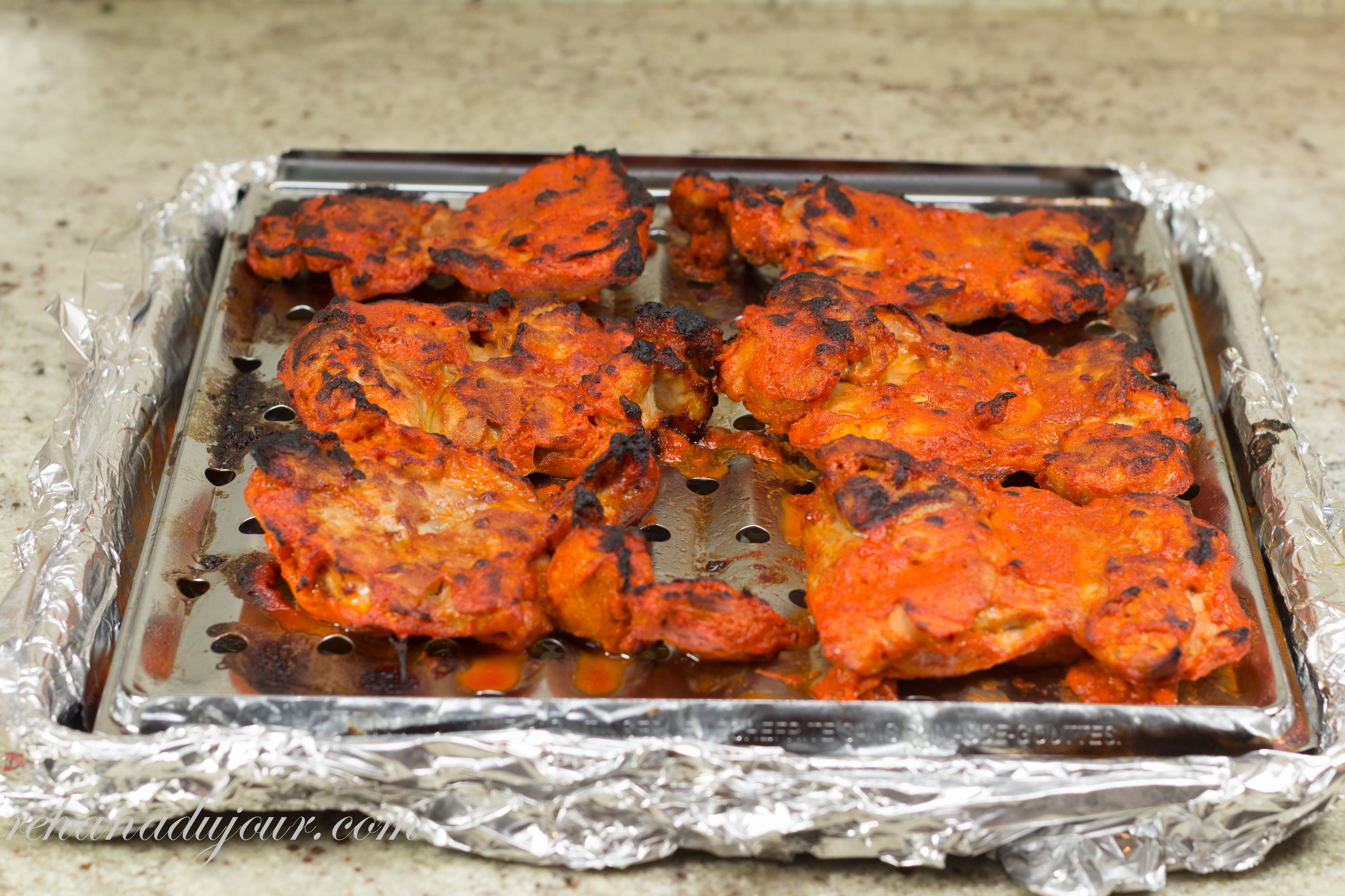 1 2 3 chicken tikka rehana du jour youve now made chicken tikka like with any meat dish i cook take the internal temperature with a digital instant read thermometer forumfinder Image collections