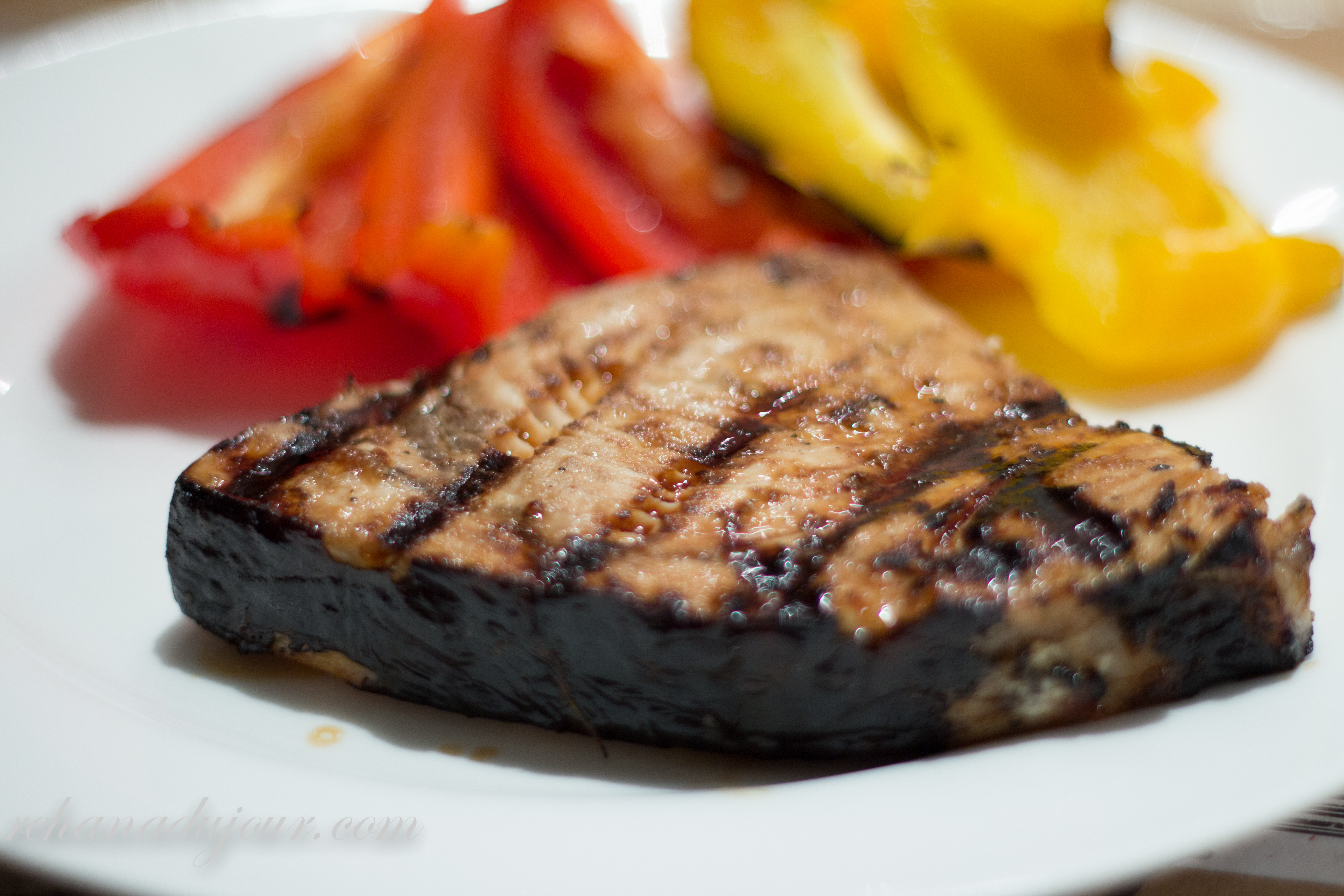 Asian Grilled Swordfish