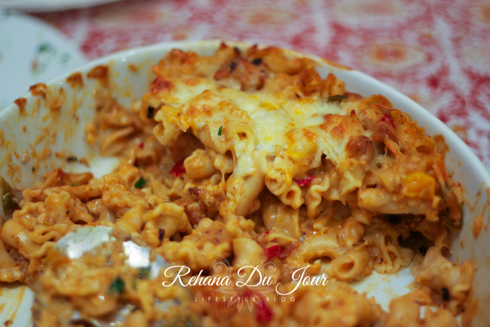 chicken thigh pasta bake-2-3