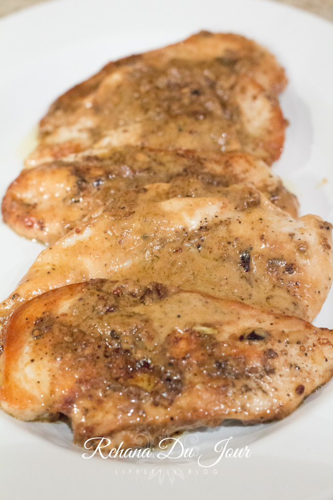 chicken with mustard sauce-12