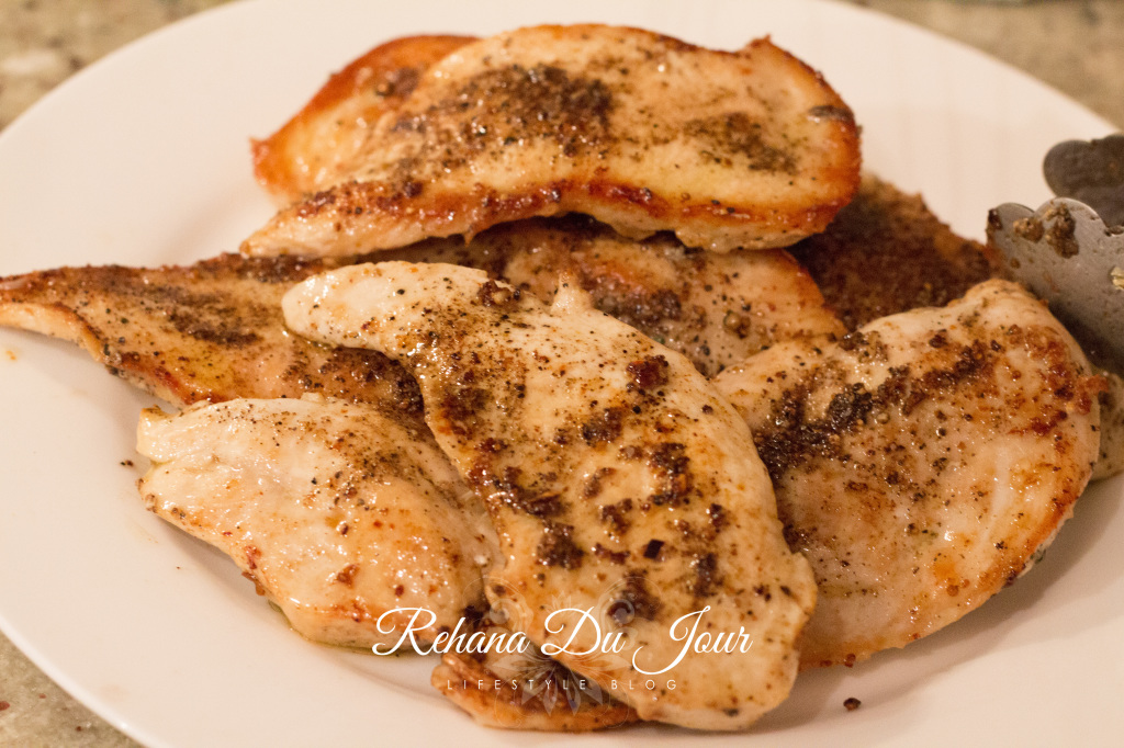 chicken with mustard sauce-6