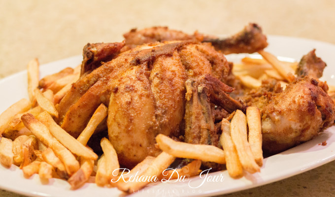 Lahori Charga – Steamed and Fried Marinated Chicken
